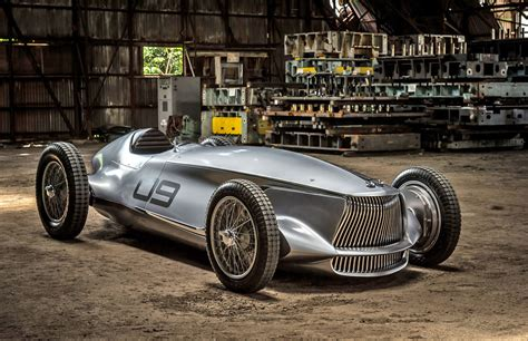 prototype cars infiniti prototype melds a 1940s race car with ev power