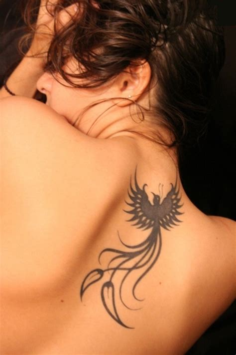 tribal phoenix back tattoo 60 meaning and designs for and