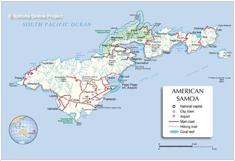 samoa map world world map american samoa