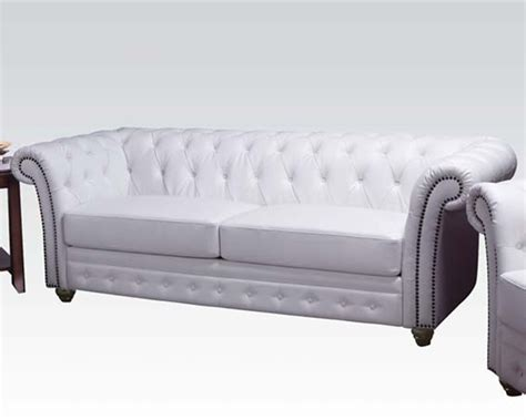 acme furniture sofa in classic style camden ac50165
