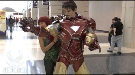 amazing iron man cosplay ce youtube