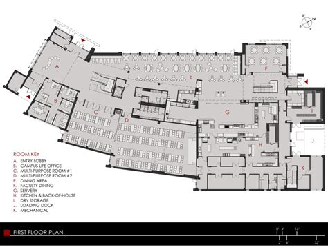 student center floor plan architecture photography first floor plan 175895