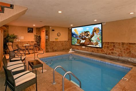 Cabin In Gatlinburg With Indoor Pool by Gatlinburg Cabin Rentals Cabins In Gatlinburg Elk Springs Resort