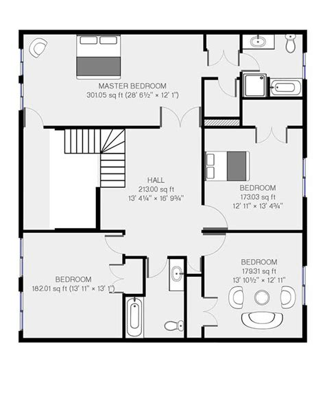real floor plans real estate floor plans sles real estate layout sles