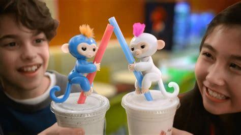 Fingerlings Baby Monkey smyths toys fingerlings baby monkey
