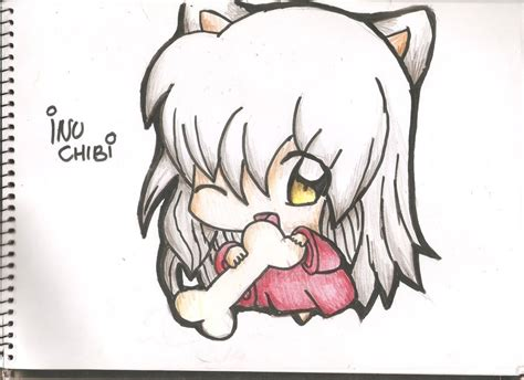 imagenes de inuyasha para dibujar a lapiz inuyasha chibi by hikaritayakima on deviantart