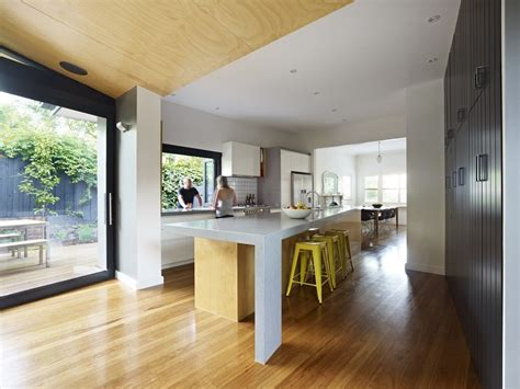 open floor plan kitchen renovation contemporary modern renovation extension in melbourne australia
