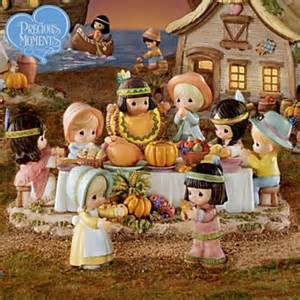 precious moments thanksgiving precious moments first thanksgiving village collection