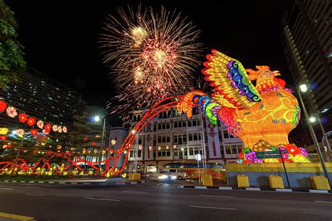 new year chinatown singapore singapore chinatown 2017 new year fireworks