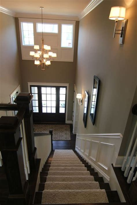 stairs wall color door and sidelights bia parade of homes photo gallery futura home