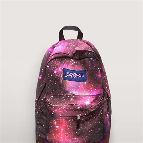 Tas Jansport Galaxy Original jansport galaxy backpack painted from nosfashiongraphic on