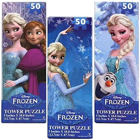 Jigsaw Puzzle Frozen Olaf 100pcs disney frozen 50 jigsaw tower puzzle set of 3 elsa and olaf