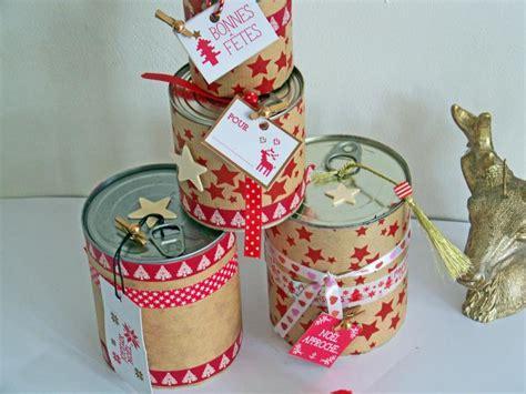 Idee Recup Boite De Conserve by Emballage Cadeau De No 235 L En Quelques Id 233 Es Tendance