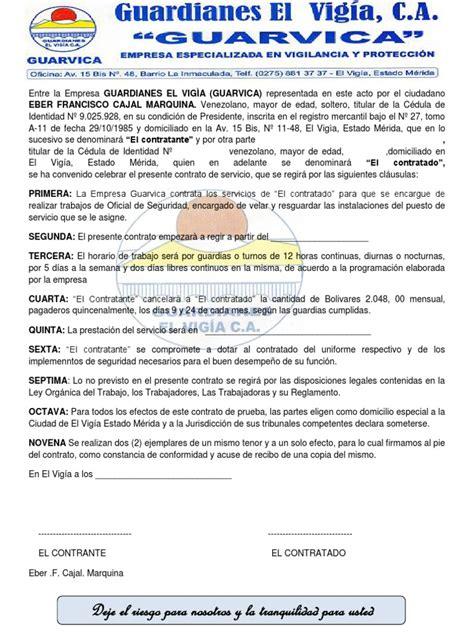 contratos de trabajo bonificados 2016 modelo de contrato de trabajo 2013
