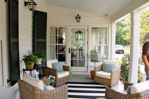 verande arredate mobili giardino rattan mobili giardino mobili da