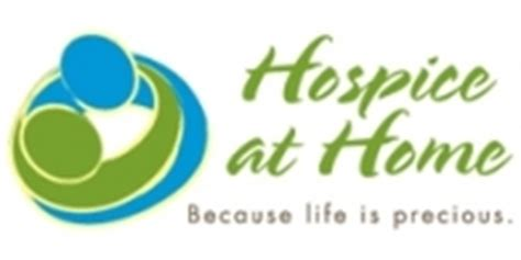 at home logo hospice at home highlights national healthcare decisions