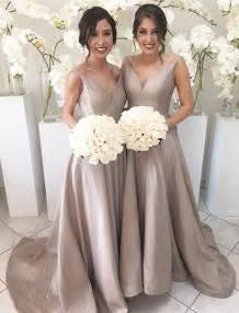 bridesmaids dresses for a wedding best 20 chagne bridesmaid dresses ideas on