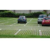 Commercial Car Parking Built With Sustainable Grass