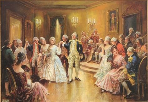 george washington a biography in social dance this day in history george washington the first