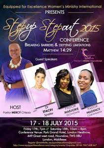 step up step out 2015 women s conference tickets fri jul