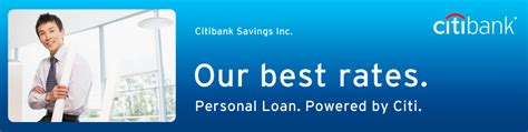 powered by jforum personal loan citibank