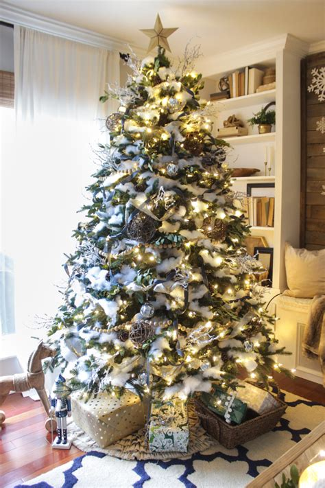 o christmas tree o christmas tree shades of blue interiors