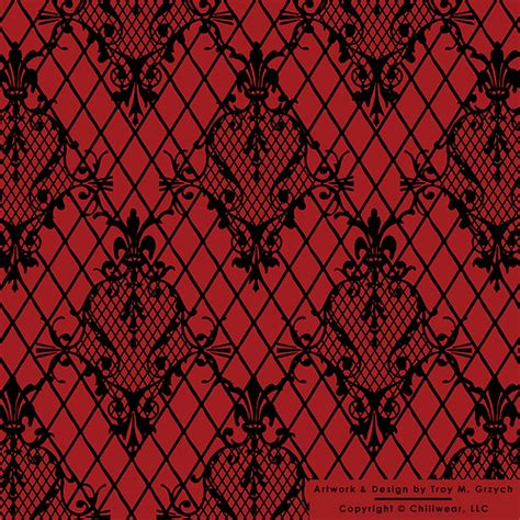 Gothic Wallet Inside Pattern   Flickr   Photo Sharing!