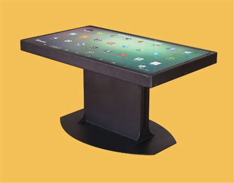 Multitouch Coffee Table Duet Multitouch Coffee Tables Agazoo