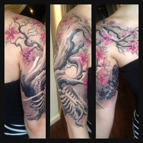 half sleeve tree tattoos tree of half sleeve search tattoos