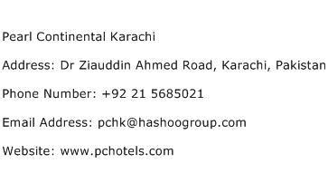 Karachi Address Finder Pearl Continental Karachi Address Contact Number Of Pearl Continental Karachi
