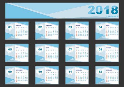 desk calendar design 2018 design template of desk calendar 2018 free