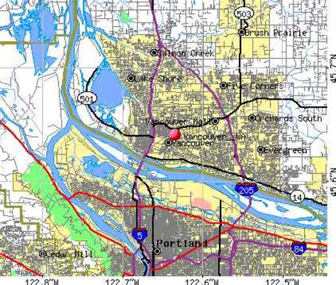 vancouver usa map 29 excellent map of vancouver washington afputra