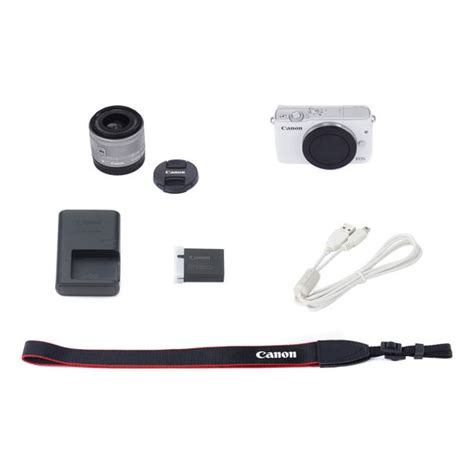 Eos M10 With Ef M 15 45mm White jual canon eos m10 kit ef m15 45mm white harga murah