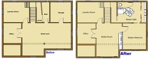 Split Bedroom Floor Plan Denver Split Level Howard Interior Design