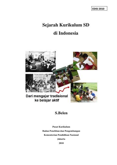 sejarah tato di indonesia buku sejarah kurikulum pendidikan di indonesia
