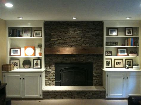 Pin By Jessica Sabbour On Home Pinterest Fireplace With Built In Bookshelves