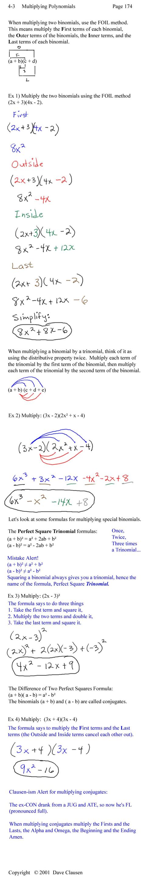 Polynomial Word Problems Worksheet by 28 Polynomial Word Problems Worksheet Polynomial