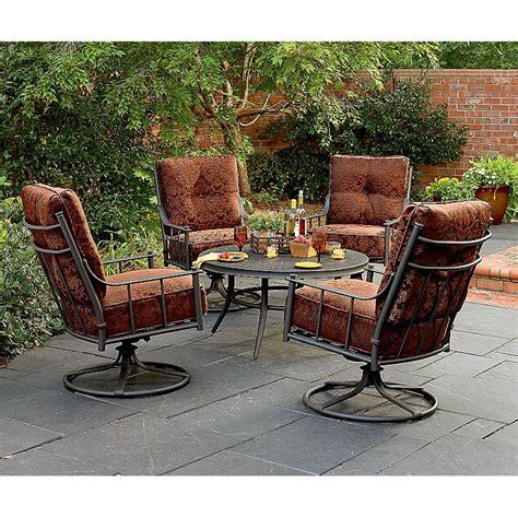 menlo park conversation set replacement cushions garden winds