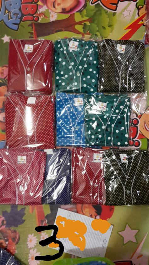 Baju Anak Stelan 3 In One We Are Chions jual baju tidur baju polkadot piyama anak stelan baju tidur anak no 3 shopp