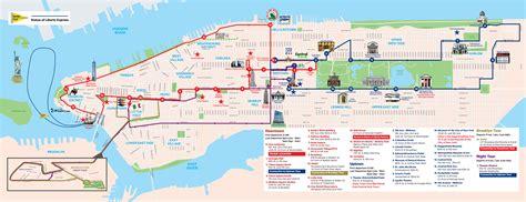 sightseeing map of nyc new york sightseeing tour cruise order groundline