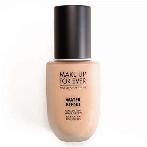 Makeup Forever Water Blend Foundation Make Up For Water Blend Foundation Review Photos