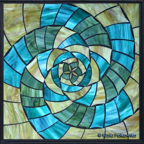 stained glass l designs kasia mosaics geometric and mandala designs