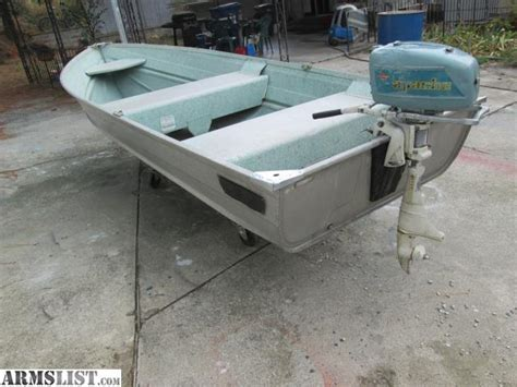 aluminum fishing boat with motor armslist for sale trade clean aluminum fishing boat