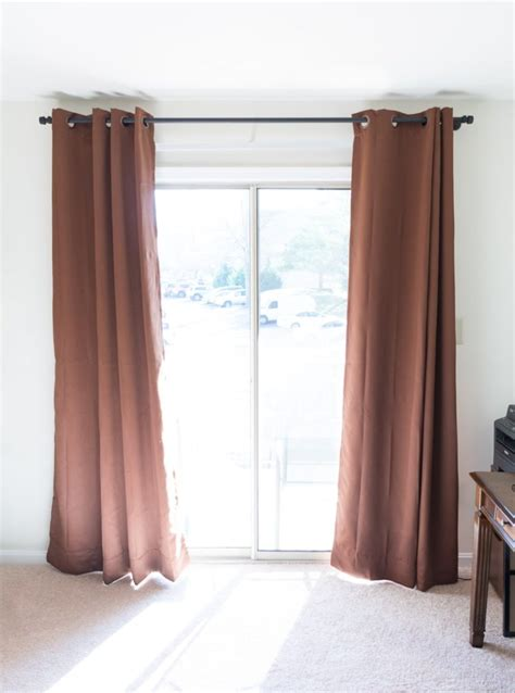 distressed curtain rods diy distressed pipe curtain rod curtain menzilperde net
