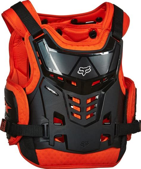 fox motocross chest protector 139 95 fox racing boys raptor proframe lc roost guard 194994