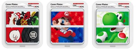 Nds Cover Plate For Nintendo Ds Lite 5 nintendo releases awesome cover plates for new nintendo 3ds in japan reactor