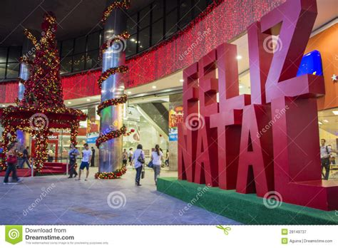 how do brazilians decorate for christmas in paulista avenue decorations editorial photography image 28149737