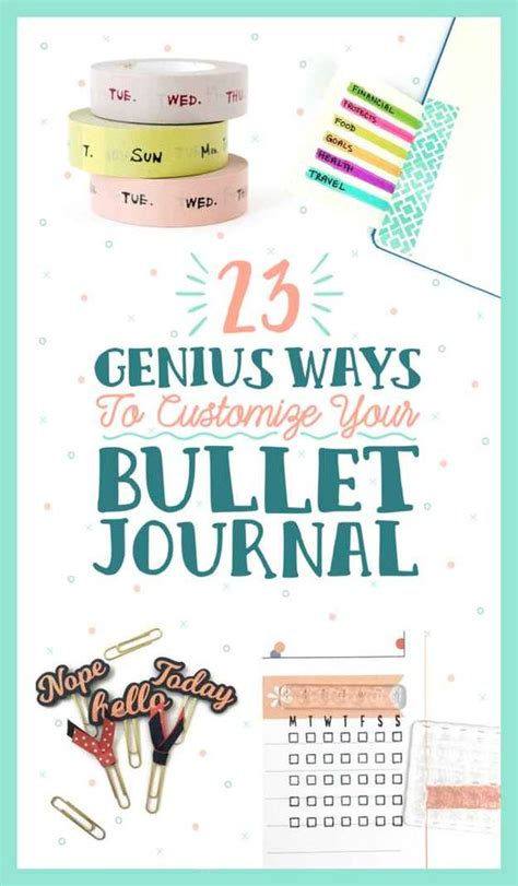 Ways To Design Your Journal | 23 bullet journal ideas that are borderline genius