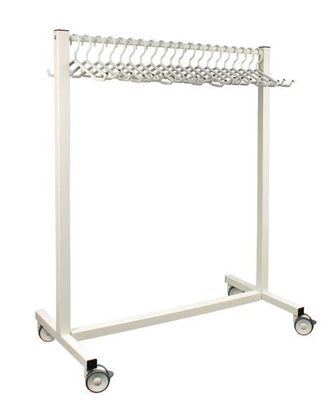 Hanger Rack by 20 Hanger Mobile Apron Rack