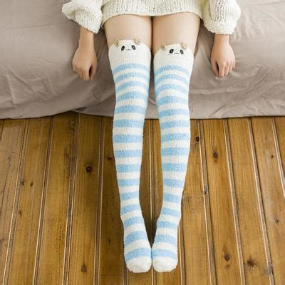 cute stockings cute warm woolen animal faced stockings sd01865